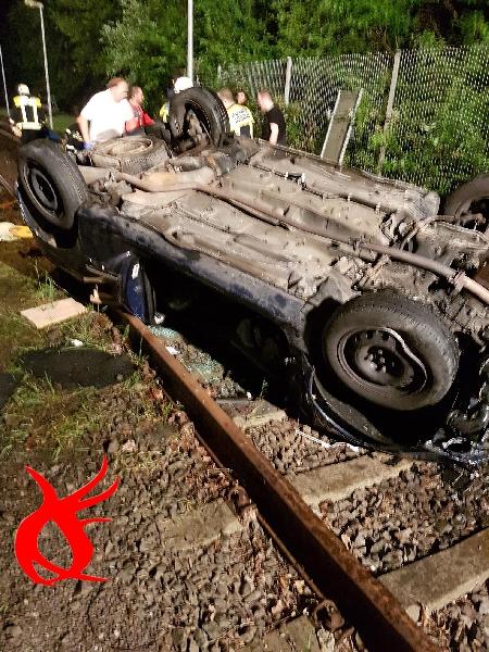 VU3 - Verkehrsunfall Personen klemmen