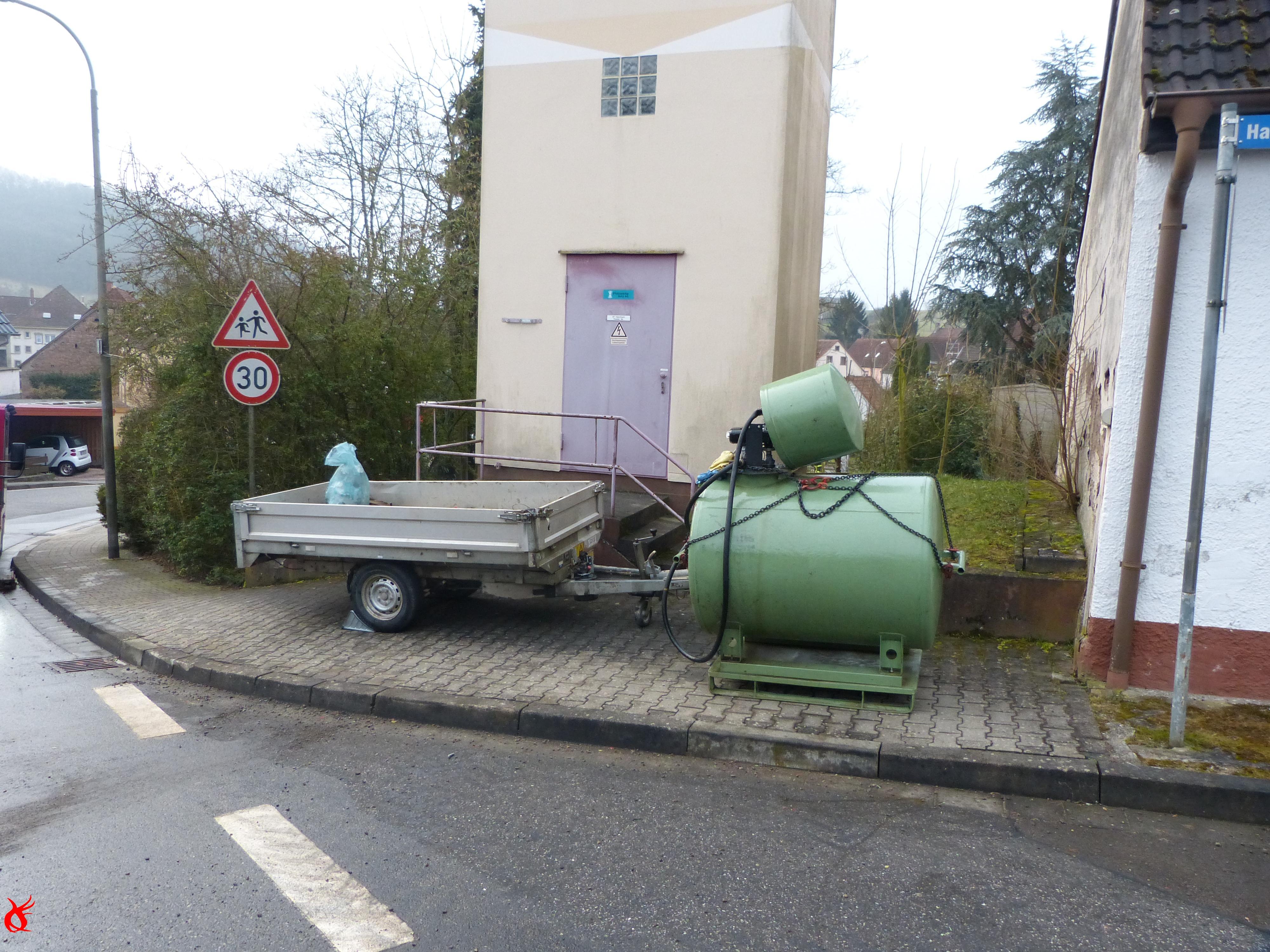 GG2 - Betriebsst. auf Gewässer / Gasgeruch