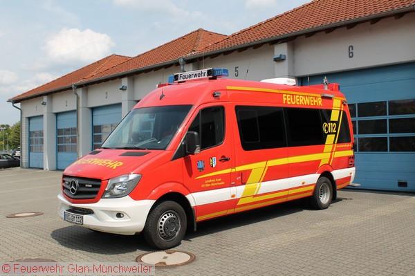 ELW 2(Feuerwehr Glan-Münchweiler)